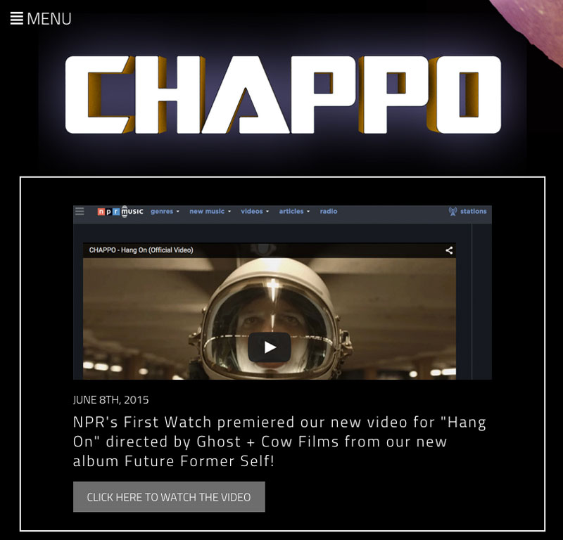 CHAPPO Website