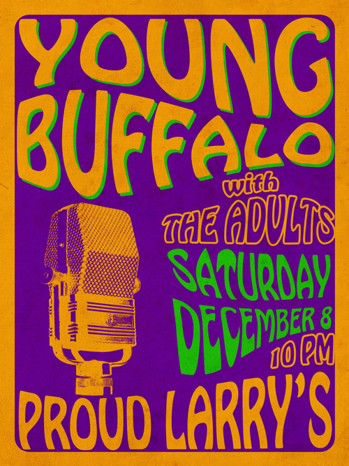 Young Buffalo Poster 1